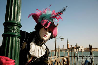 Photograph - Venice Carnival V by Louise Fahy