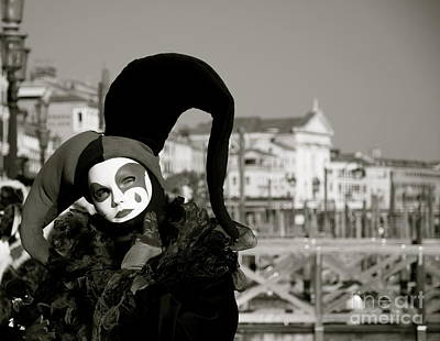 Photograph - Venice Carnival Vii by Louise Fahy