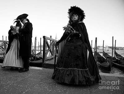 Painting - Venice Carnival Viii by Louise Fahy