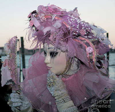 Photograph - Venice Carnival Vix by Louise Fahy