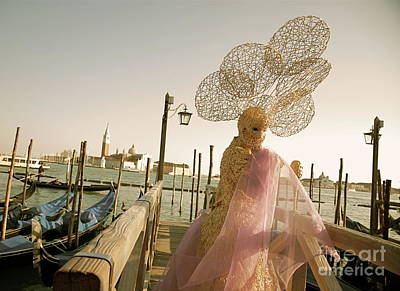 Photograph - Venice Carnival Xi by Louise Fahy