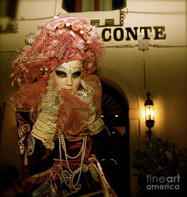 Photograph - Venice Carnival Xiii by Louise Fahy