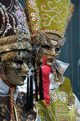 Photograph - Venice Carnival Xiv by Louise Fahy