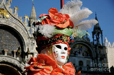 Photograph - Venice Carnival Xvi by Louise Fahy