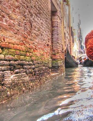 Pyrography - Venice Channelssss  by Yury Bashkin