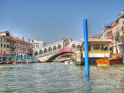 Pyrography -  Venice Channelssssss by Yury Bashkin