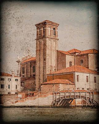 Photograph - Venice, Italy - Chiesa Dei Gesuiti by Mark Forte