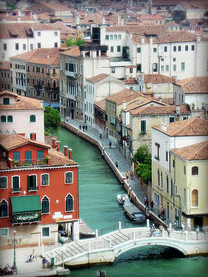 Venice City Of Canals Art Print by Julie Palencia
