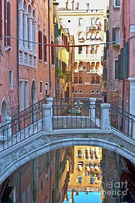 Venedig Photograph - Venice Cross Over by Heiko Koehrer-Wagner