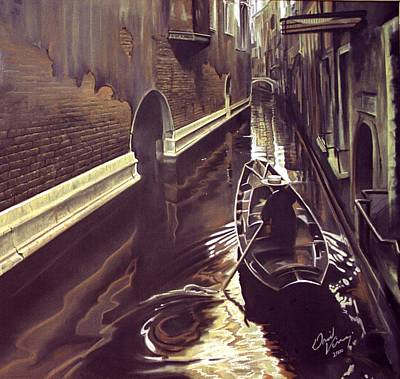 Painting - Venice by David Vincenzi