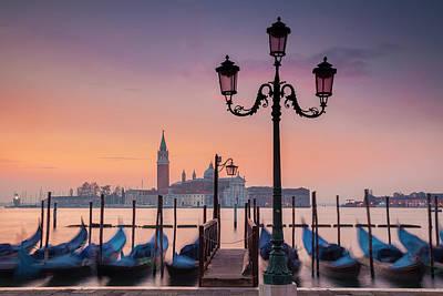 Photograph - Venice Dawn by Andrew Soundarajan