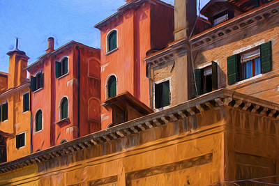 Venice Photograph - Venice Details Italy by George Robinson