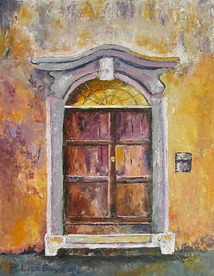 Painting - Venice Door by Lisa Boyd