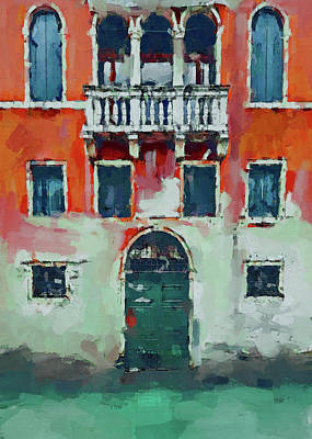 Digital Art - Venice Doors by Yury Malkov