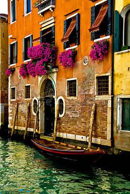 Venice Facade Art Print