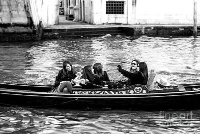 Photograph - Venice Friends by John Rizzuto