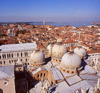 Photograph - Venice From Above by Paul Cowan