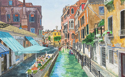 Painting - Venice by George Levitt