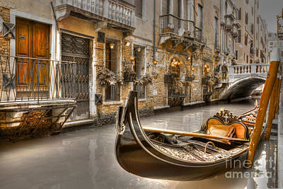Photograph - Venice Gold by David Birchall