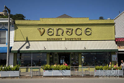 Photograph - Venice Gourmet Boutique On Bridgeway Sausalito California Dsc6027 by Wingsdomain Art and Photography