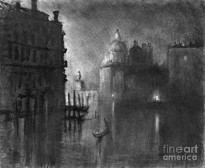 Drawing - Venice, Grand Canal, C1905.  by Granger