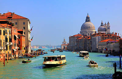 Venice Grand Canal Print by Marc Laytar