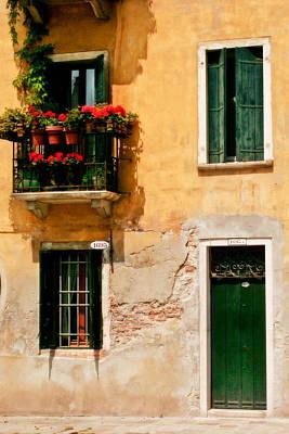Venice Home Art Print by Carl Jackson
