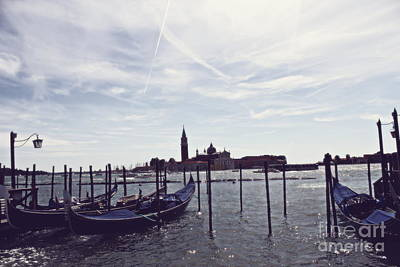 Photograph - Venice In A Dream by Cendrine Marrouat