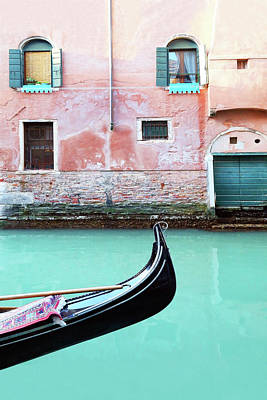 Photograph - Venice In Aqua And Coral by Brooke T Ryan