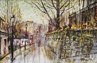 Painting - Venice In Cieszyn by Dariusz Orszulik