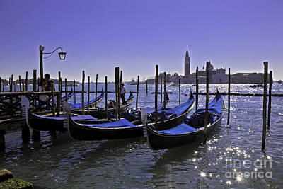 Venice Is A Magical Place Art Print