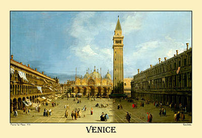 Photograph - Venice Italy 1720 by Andrew Fare