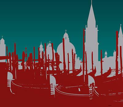 Composition Digital Art - Venice Italy by Alberto  RuiZ