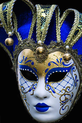Photograph - Venice Italy Carnival Mask Iv by Russell Mancuso