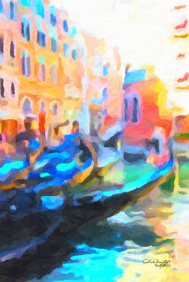 Painting - Venice, Italy by Chris Armytage