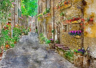 Mixed Media - Venice Italy  by Marvin Blaine