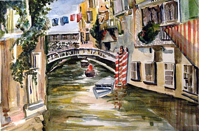 Venice Italy Original by Mindy Newman