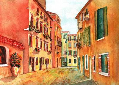 Venice Italy Street Art Print by Sharon Mick