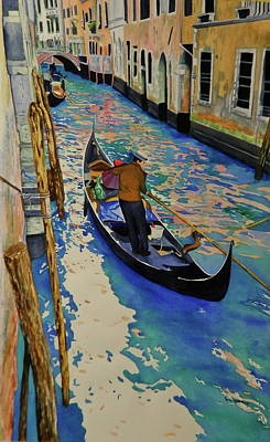 Venice Italy Original by Terry Honstead