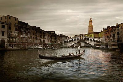 Art Print featuring the photograph Venice by John Hix