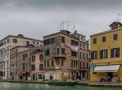 Photograph - Venice Life In Cannaregio by Georgia Fowler