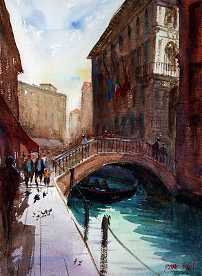 Painting - Venice by Lior Ohayon