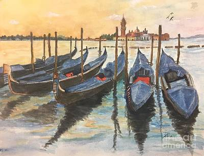 Painting - Venice by Lucia Grilletto