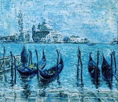 Wall Art - Painting - Venice by Marcela  Levinska