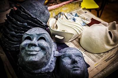 Priska Wettstein Pink Hues - Venice Mask Cores by Robert Goguen