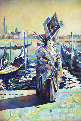 Painting - Venice Mask II- Italy by Ryan Fox