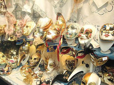 Painting - Venice Masks by Lisa Boyd