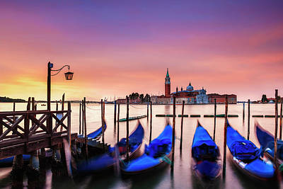 Photograph - Venice Morning by Andrew Soundarajan