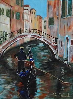 Painting - Venice Morning by Diane Arlitt