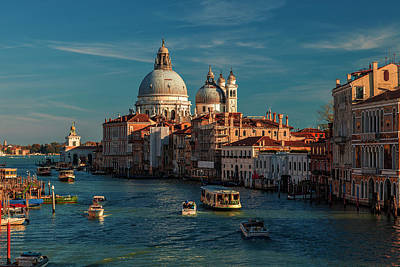 Photograph - Venice Morning Traffic by Andrew Soundarajan